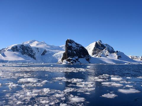 Søndag målte brasilianske forskere for første gang nogensinde en temperatur over 20 grader i Antarktis. (Arkivfoto)