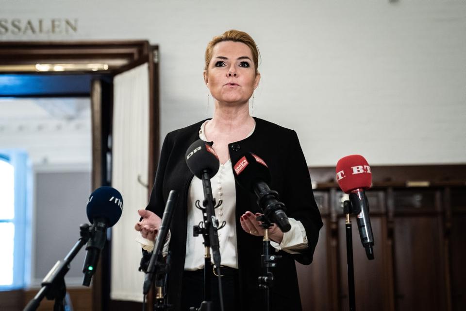 Inger Støjberg (V) kan ikke skjule, at hun er yderst skuffet over Venstres formand, Jakob Ellemann-Jensen.
