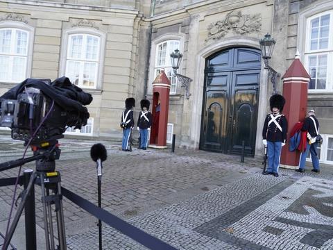 Statsminister Mette Frederiksen (S) præsenterer ændringer i regeringen for Dronninge Margrethe, pa? Amalienborg torsdag den 19. november 2020.