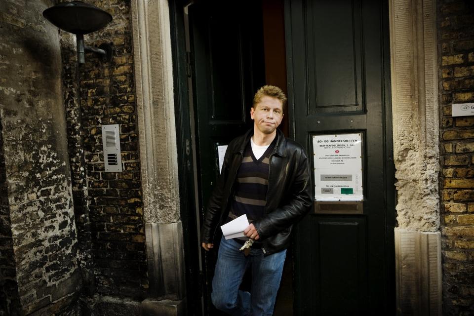 Spekulanten Kenneth Schwartz Thomsen oplever modvind fra Retten i Lyngby. Han får en regning på over en halv milliard kroner på grund af penge, han lånte i Roskilde Bank. (Arkivfoto)