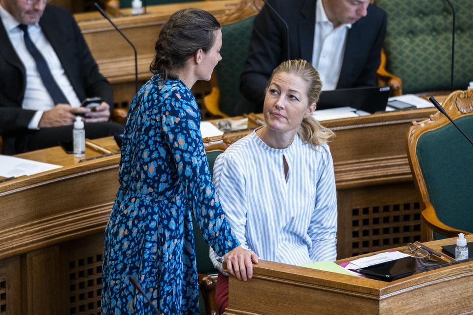 Sofie Carsten Nielsen tilbød at trække sig fra partiledelsen under De Radikales meget omtalte gruppemøde onsdag.
