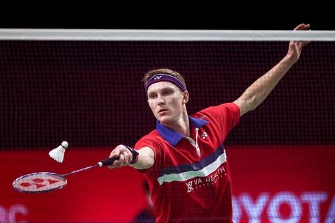 Viktor Axelsen har fået en fænomenal start på 2021. I næste uge kan han vinde tredje turnering i træk i Thailand i sæsonfinalen. (Arkivfoto)