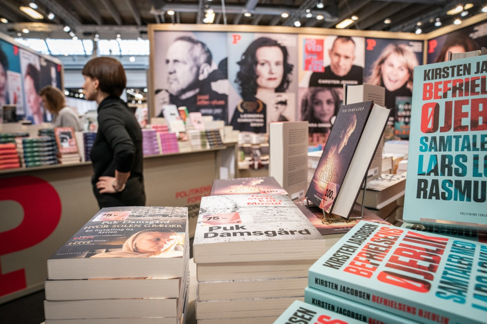 Bogforum 2020 slår ikke dørene op i år, men de litteraturinteresserede danskere kan få deres sult stillet dette efterår på bogfestival 2020 rundt om i landet. Det er Gyldendal og Politikens Forlag som er hovederne bag den nye bogbegivenhed. (Arkiv)