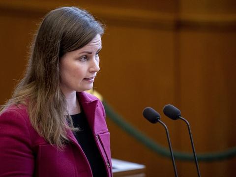 Politisk ordfører Mai Villadsen (S) vil have børn og unge forrest i køen, når hun onsdag drøfter genåbning med statsministeren. (Arkivfoto.)