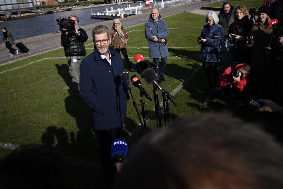 Frank Jensen (S) holdt pressemøde på Islands Brygge mandag middag. Her fortalte han, at han træder tilbage som overborgmester i København og som næstformand i Socialdemokratiet.