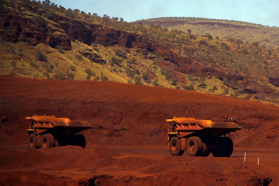 Den australske kulindustri er enorm og en afgørende del af landets økonomi. Her fra en jernmine i The Valley of the Kings syd for byen Port Hedland i den vestlige delstat Western Australia. (Arkivfoto.)