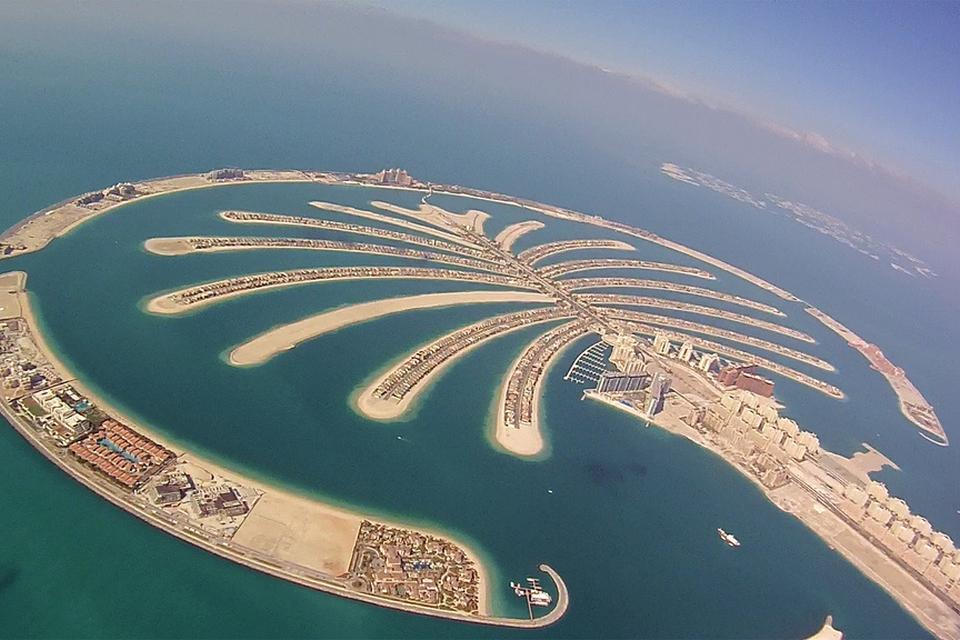 Foto: Palm Jumeirah i Dubai