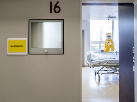 De patienter, der ligger i respirator, er dem, som er hårdest ramt af coronavirus. (Arkivfoto)