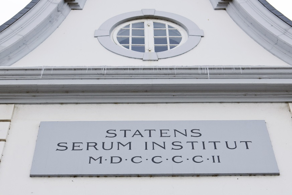 Pressefoto fra Statens Serum Institut