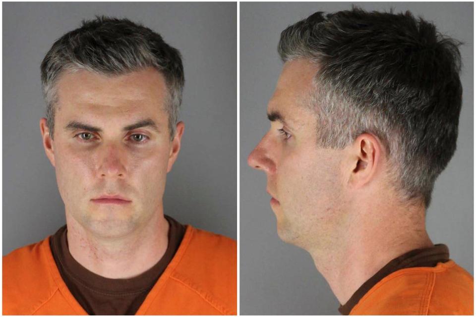Den tidligere politibetjent i Minneapolis Thomas Lane er onsdag blevet løsladt mod kaution. Sigtelsen for medvirken til drab på George Floyd består. (Arkivfoto).