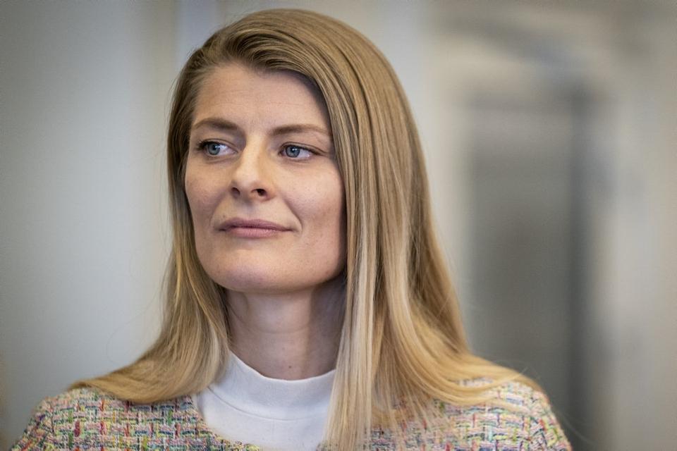 Ane Halsboe-Jørgensen siger, hun ikke var opmærksom på coronaregler i Operaen i København. (Arkivfoto)