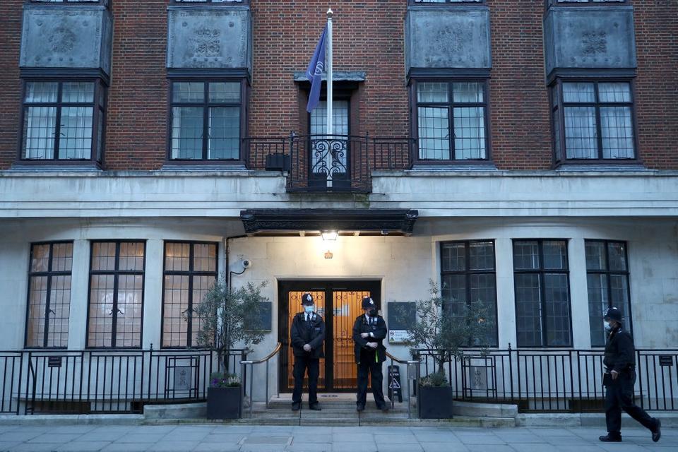Rpins Philip er indlagt på King Edward VII-hospitalet i London.