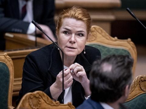 På et digitalt ekstraordinært landsmøde har Venstre søndag sagt farvel til Inger Støjberg på næstformandsposten. (Arkivfoto)