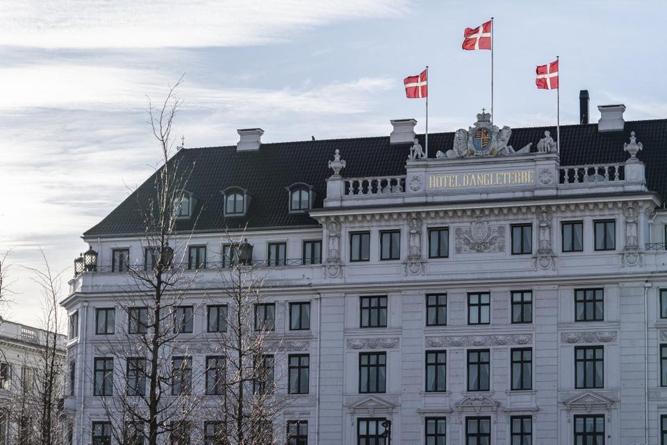 Hotel D'Angleterre i København har haft færre gæster i 2020 på grund af coronaudbruddet. (Arkivfoto)
