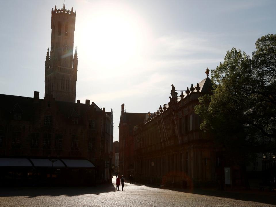 Brugge er en populær turistattraktion nær den vestlige kyst i Belgien. Byen har en befolkning på omkring 120.000. (Arkivfoto).