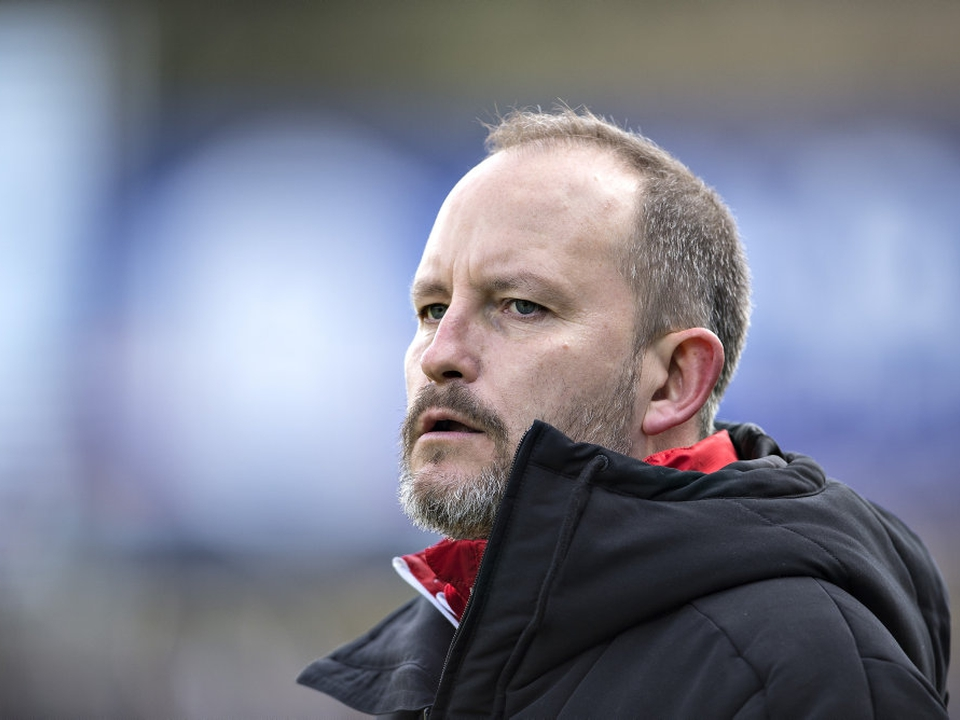 Michael Kryger er fortid i Hobro. Han blev udpeget som midlertidig cheftræner i februar.
