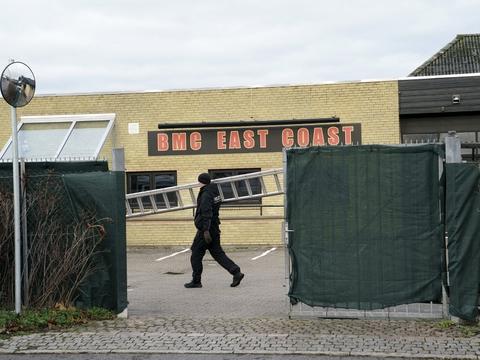 Politiet stormede Bandidos' klubhus i Hillerød, umiddelbart efter at en 38-årig mand blev skudt og mistede livet. (Arkivfoto)