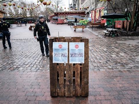 Opholdsforbud på dele af Christiania er forlænget. (Arkivfoto)