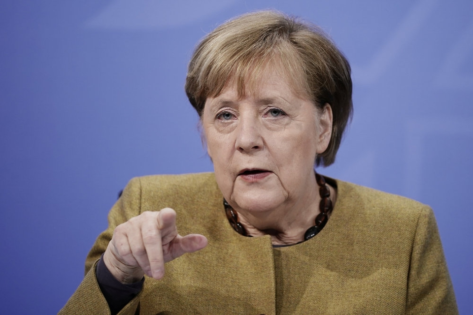 """Vaccinerne giver ifølge Merkel et """"berettiget håb"""" om, at verden vil få styr på pandemien. Men hun opfordrer samtidig tyskerne til at bevare tålmodigheden. (Arkivfoto)."""