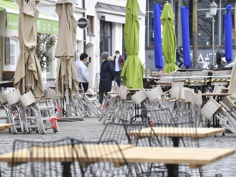 Restauranterne har stået tomme siden anden nedlukning i december 2020. Det har dog været muligt for dem at sælge takeaway. (Arkivfoto).