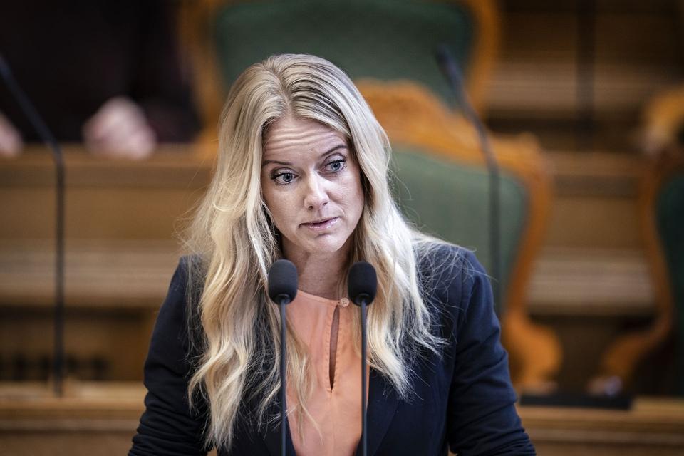 - Skyldes det bare, at det egentlig er ét fedt, hvad man som medlem af Nye Borgerlige siger - bare det giver stemmer?, spørger Amalie Lisbjerg i et læserbrev. (Foto: Liselotte Sabroe/Ritzau Scanpix)