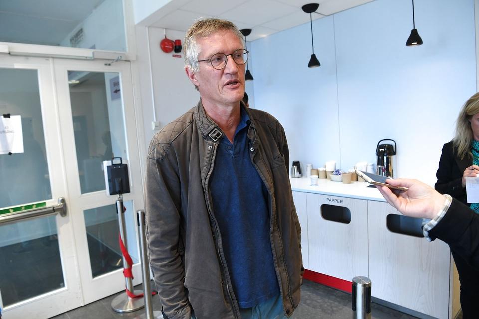 STOCKHOLM 20200616 Anders Tegnell, statsepidemiolog, Folkhälsomyndigheten vid tisdagens pressträff på Folkhälsomyndigheten. (Foto: 10080 Fredrik Sandberg/TT/Ritzau Scanpix)