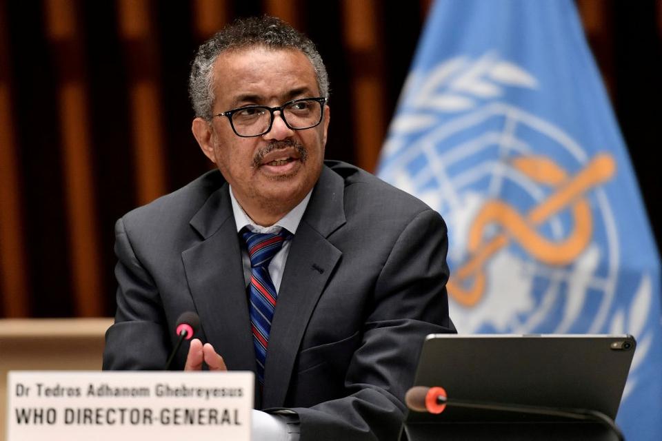 WHO-chef Tedros Adhanom Ghebreyesus var sundhedsminister i Etiopien, dengang Tigray Befolkningens Befrielsesfront var en del af landets regeringskoalition. (Arkivfoto).
