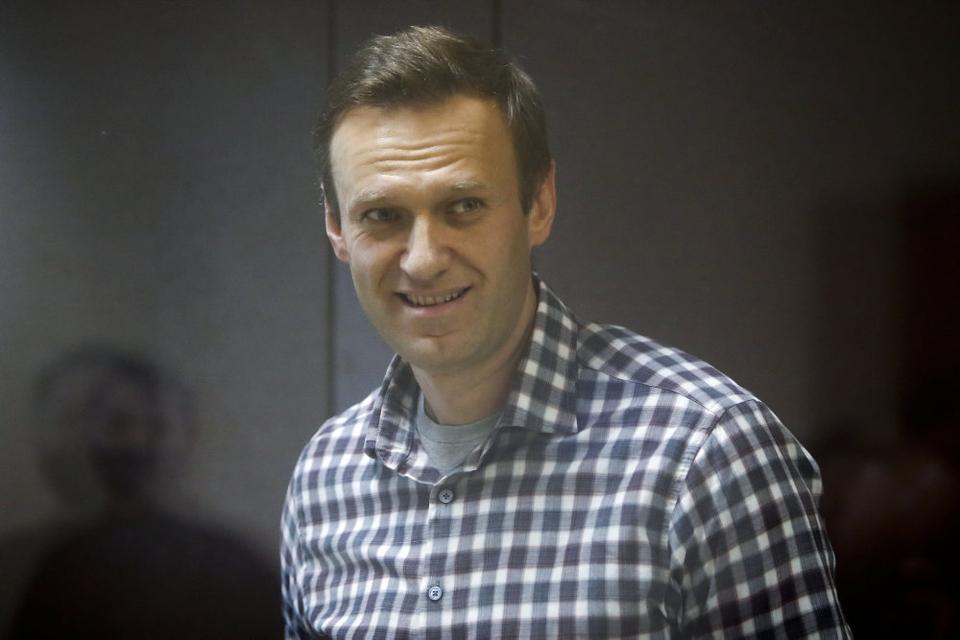 Oppositionslederen Aleksej Navalnyj blev forgiftet i august 2020 og blev anholdt i januar, da han vendte hjem efter behandling i Tyskland (Arkivfoto).