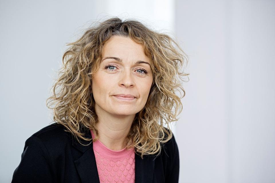 Pressefoto af Dorthe Boe Danbjørg, 2. Næstformand for Dansk Sygeplejeråd