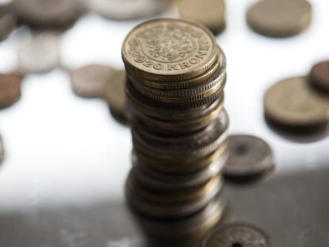 Bankerne er godt rustet til coronakrisen. Men sammen med faldende indtjening kan krisen også komme til at gøre ondt på bankerne, vurderer Finans Danmark. (Arkivfoto)