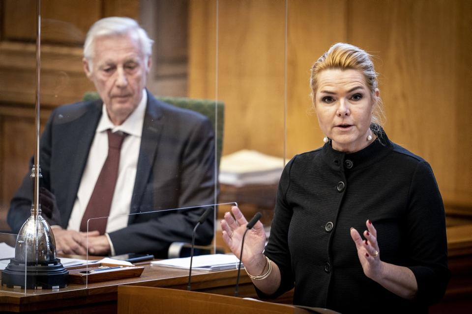 Inger Støjberg er ikke længere en del af Venstre, men har tilbud fra både Dansk Folkeparti og Nye Borgerlige. (Arkivfoto)
