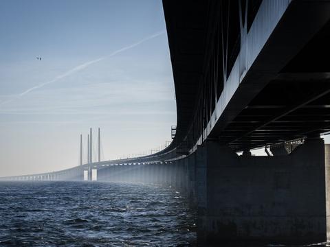 Både ved Øresundsbroen og ved den dansk-tyske grænse er personer blevet nægtet indrejse til Danmark, fordi de ikke kunne fremvise en negativ coronatest. (Arkivfoto)