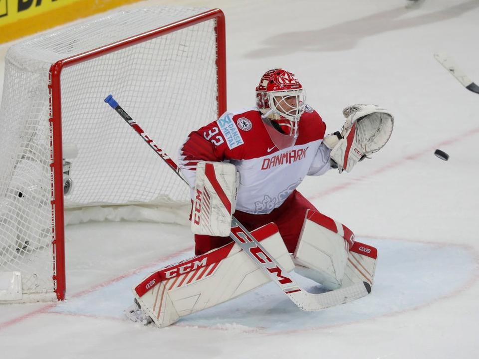 Sebastian Dahm gjorde sit for at holde Danmarks kvartfinalehåb i live, men til sidst gik det galt.