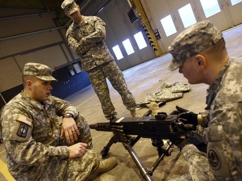 Omkring 34.500 amerikanske soldater er udstationeret i Tyskland. (Arkivfoto.)