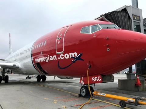 Norwegian flyver i øjeblikket kun på enkelte indenrigsruter i Norge. (Arkivfoto)