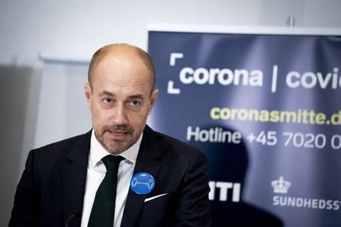 Ifølge sundhedsminister Magnus Heunicke (S) er kontakttallet steget til 1,0. (Arkivfoto)