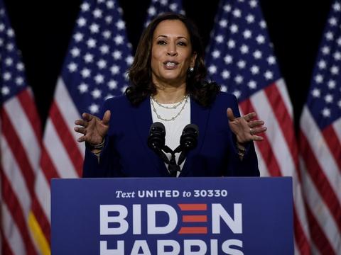 Den amerikanske senator Kamala Harris fra Californien har cirka samme opbakning eller endda større tilslutning end Joe Biden i de fleste demografiske grupper i det demokratiske parti, viser meningsmåling.