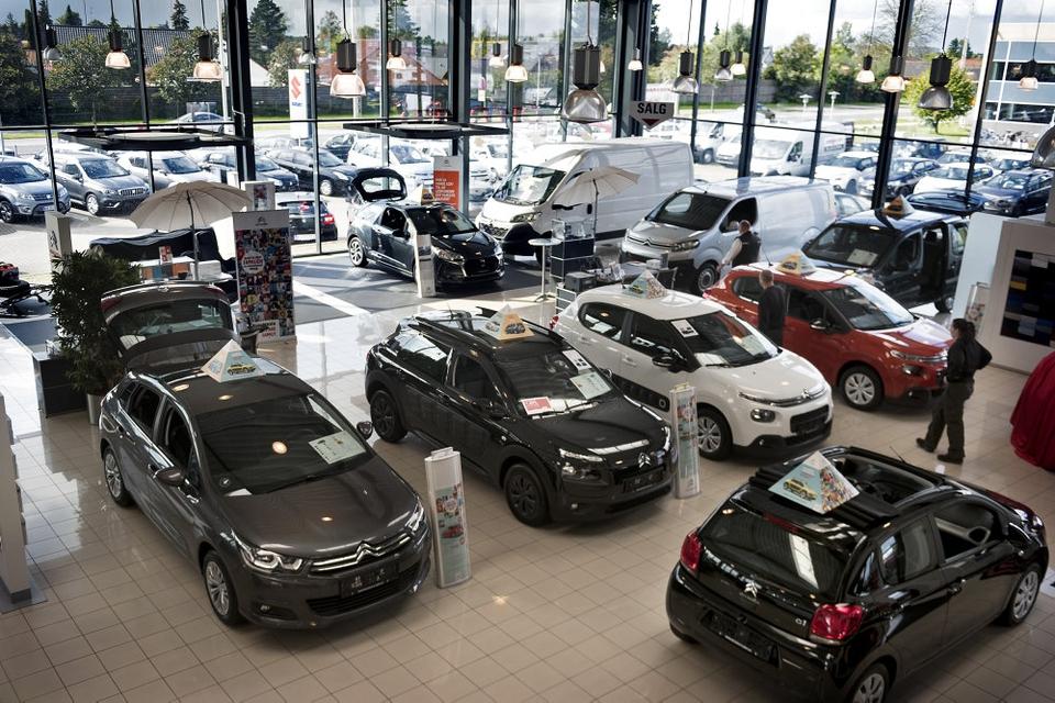 Sammenlagt har de danske husholdninger og erhvervet købt rekordmange biler i det forgangne år. (Arkivfoto)