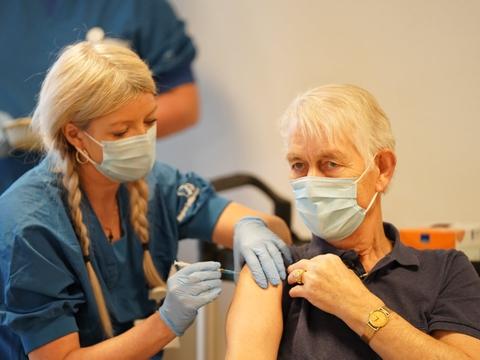 I denne uge vil de vacciner, Danmark får leveret, primært gå til personer, der skal have stik nummer to. (Arkivfoto)