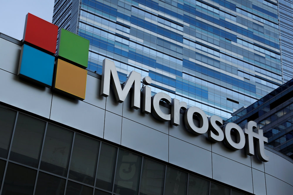 Microsoft har torsdag præsenteret en plan om at være CO2-negativ i 2030. (Arkivfoto)