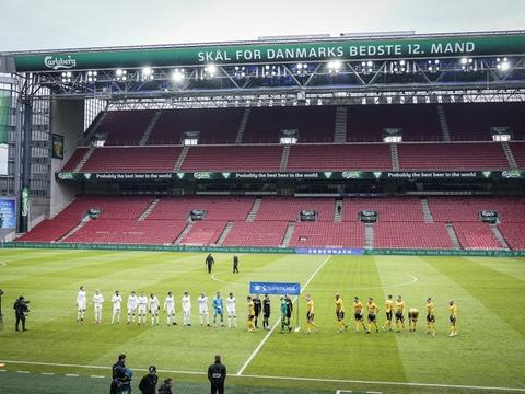Superligaen har været suspenderet siden starten af marts, men vil blive genstartet 28. maj. (Arkivfoto)