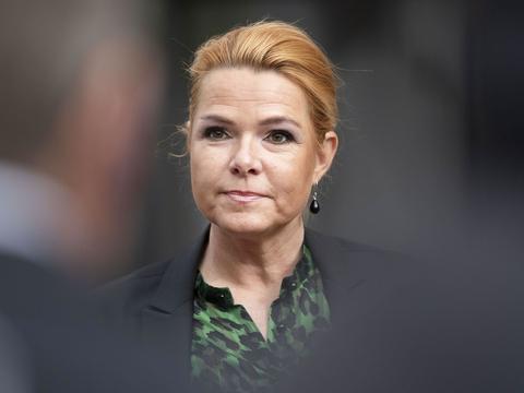 Forhenværende minister Inger Støjberg (V) blev afhørt af Instrukskommissionen søndag og mandag. (Foto: Thomas Sjørup/Ritzau Scanpix)