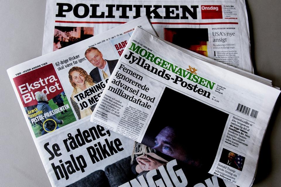 Avisen Jyllands-Posten har fået nyt medlem af chefredaktionen i form af Marchen Neel Gjertsen. (Arkivfoto)