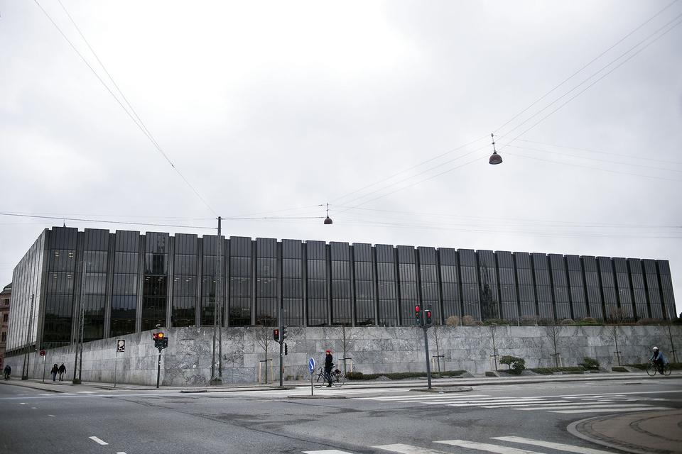 (ARKIV) Nationalbanken udefra onsdag den 14 marts 2018. (Foto: Liselotte Sabroe/Ritzau Scanpix)