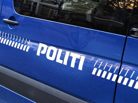 Det er uvist, hvorfor politiet er tilstede i Kongensgade i Esbjerg. (Arkivfoto)