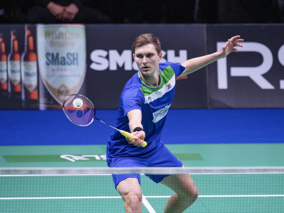 Viktor Axelsen er blandt de sidste otte i Thailand Open. (Arkivfoto)