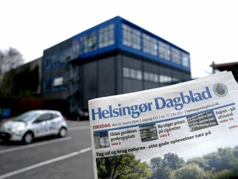 Helsingør Dagblad ser ud til at være reddet. Bladet og resten af North Media Aviser er solgt til Jysk Fynsk Medier. (Arkivfoto)