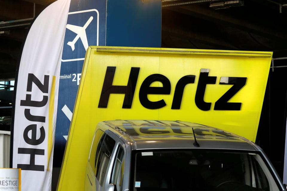 Problemerne for Hertz i USA og Canada kommer ikke umiddelbart til at påvirke selskabets forretninger i Europa. (Arkivfoto).
