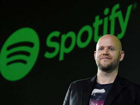 Daniel Ek stiftede Spotify i 2006 sammen med Martin Lorentzon. (Arkivfoto)
