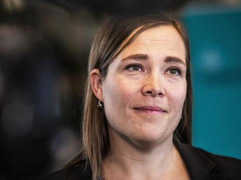 Social- og indenrigsminister Astrid Krag (S) må en tur i isolation. (Arkivfoto)